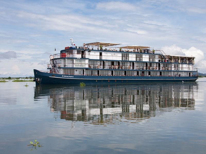 Croisière sur le Mékong à bord du Jayavarman, une merveille inspirée des croisières de l'âge d'Or en Normandie