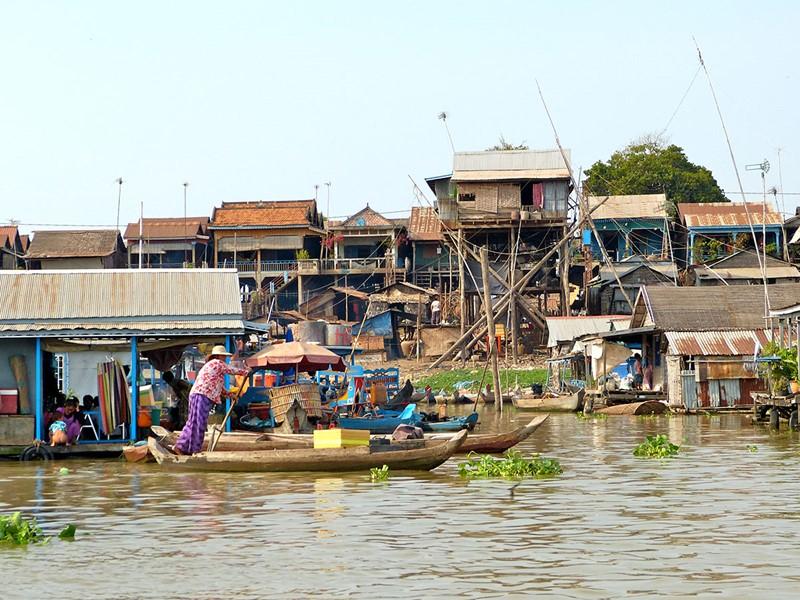 Le monde aquatique qu'est le Cambodge dévoilera toujours plus sa beauté avec une visite de Kampong Chhnang