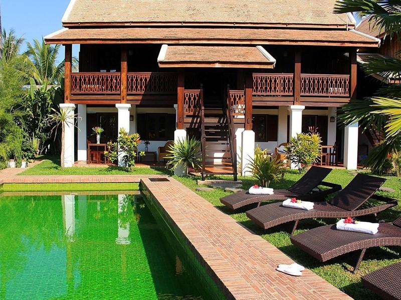 Séjournez à la Villa Maydou située en plein coeur du centre historique de Luang Prabang