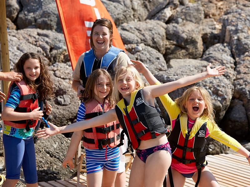 Les enfants donneront libre cours à leur esprit d'aventure