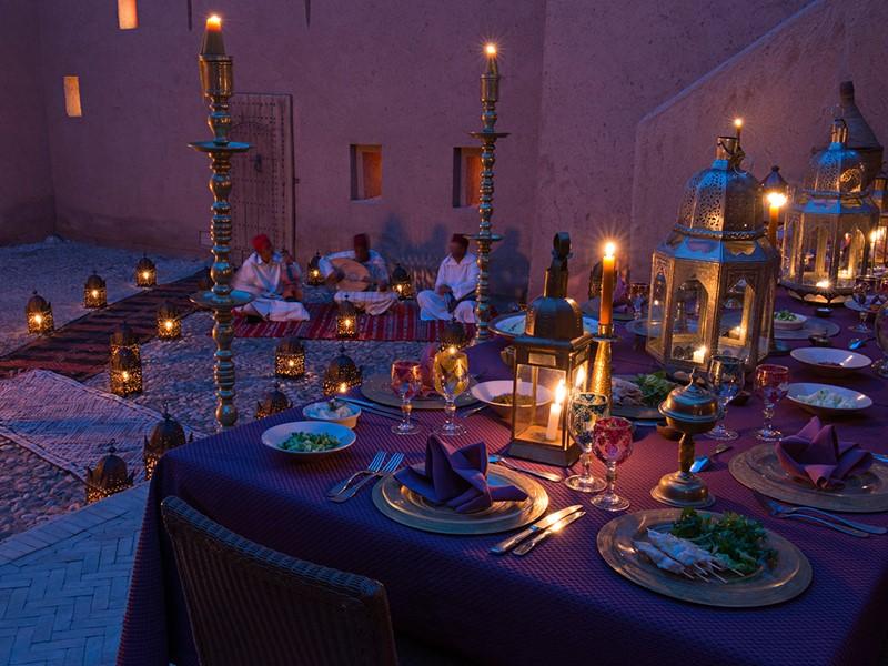 Délicieuse cuisine d'inspiration marocaine