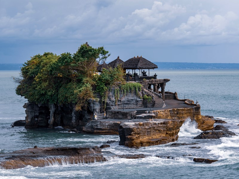 La région de Tanah Lot