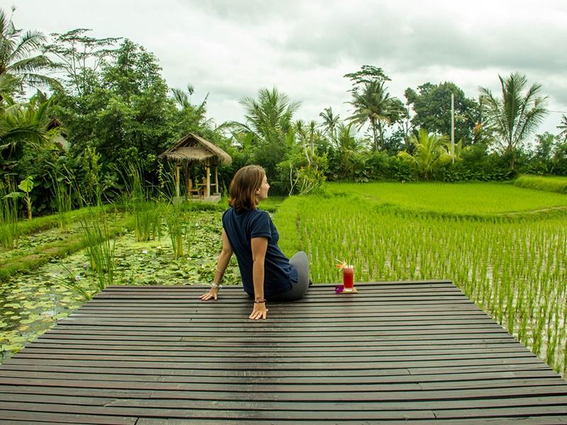 Renouez avec la nature à l'hôtel De Klumpu Bali