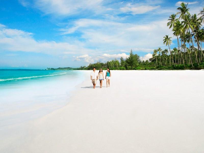 Vue d'une des plages de Bintan