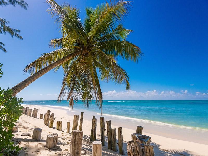 La magnifique plage de l'hôtel