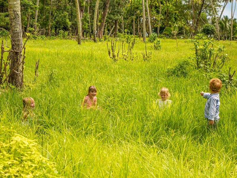 Les enfants donneront libre cours à leur esprit d'aventure et de découverte au Denis Private Island