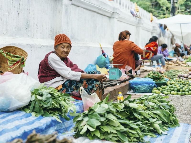 Le marché de Luang Prabang