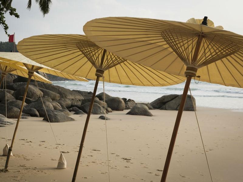 Relaxez-vous sur la plage à Phuket