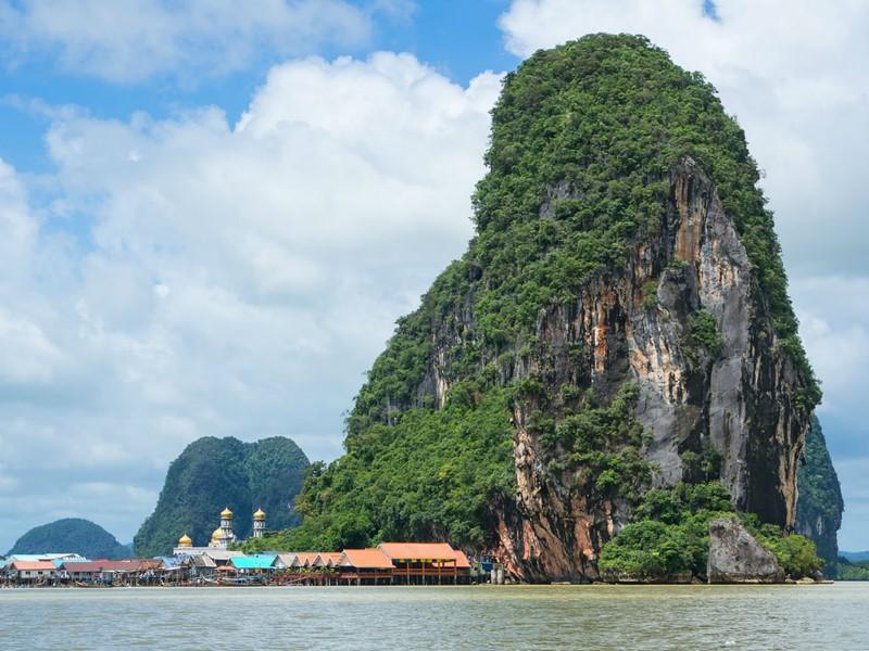 La magnifique baie de Phang-Nga
