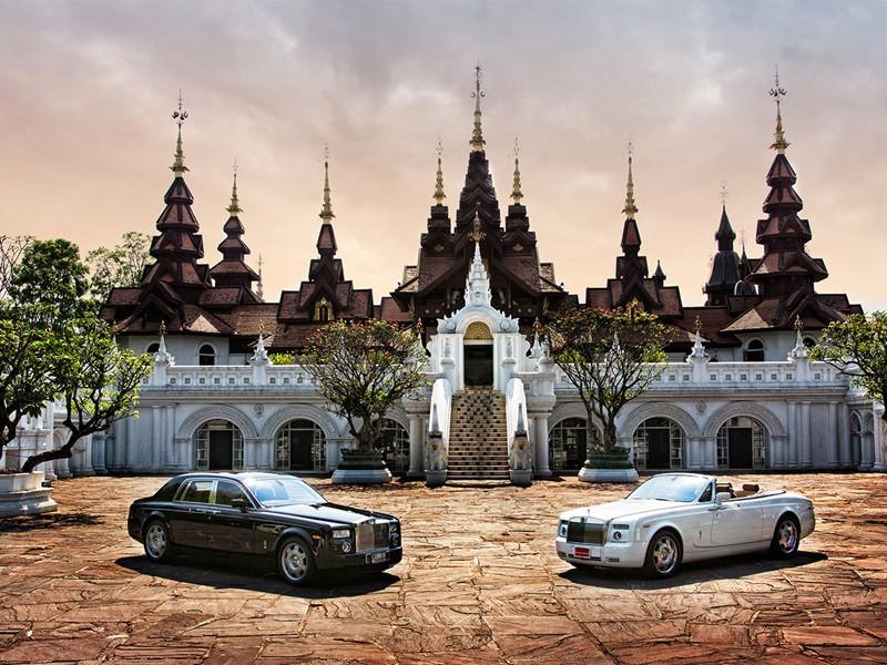 Façade de l'hôtel Dhara Dhevi situé à Chiang Mai