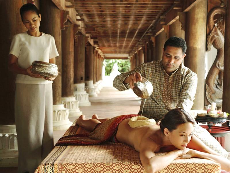 Spa ayurvédique de l'hôtel 5 étoiles Dhara Dhevi en Thailande