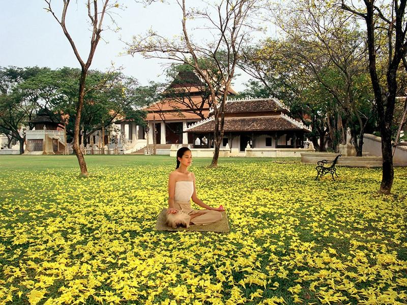 Méditation au Dhara Dhevi situé en Thailande