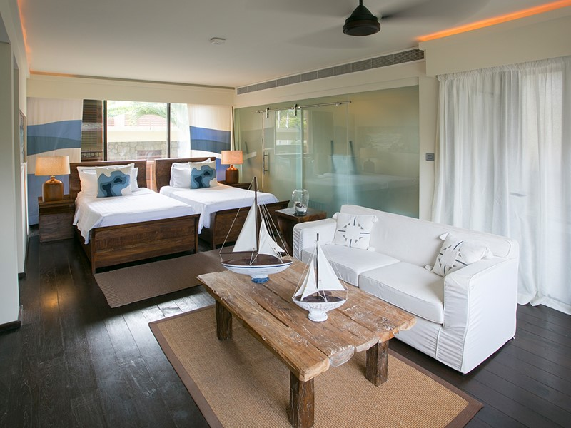 Family Suite du Dhevatara Beach aux Seychelles