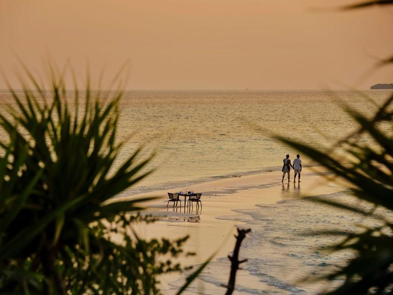 Escapade en amoureux à l'hôtel Dhigali Maldives