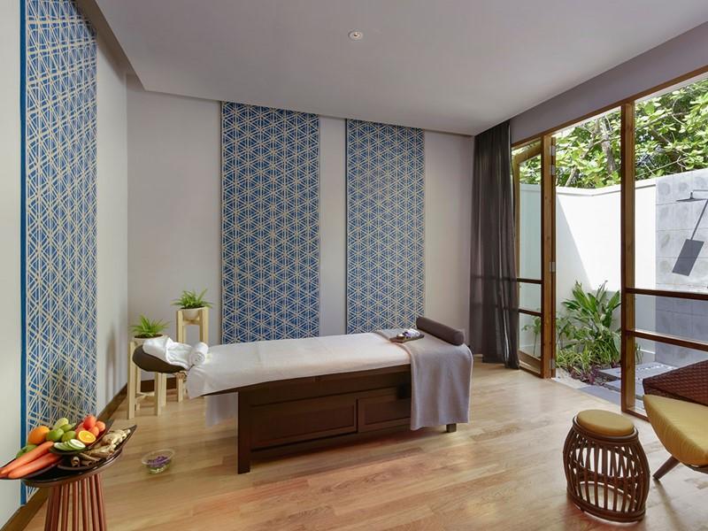 Le spa de l'hôtel 4 étoiles Dhigali aux Maldives