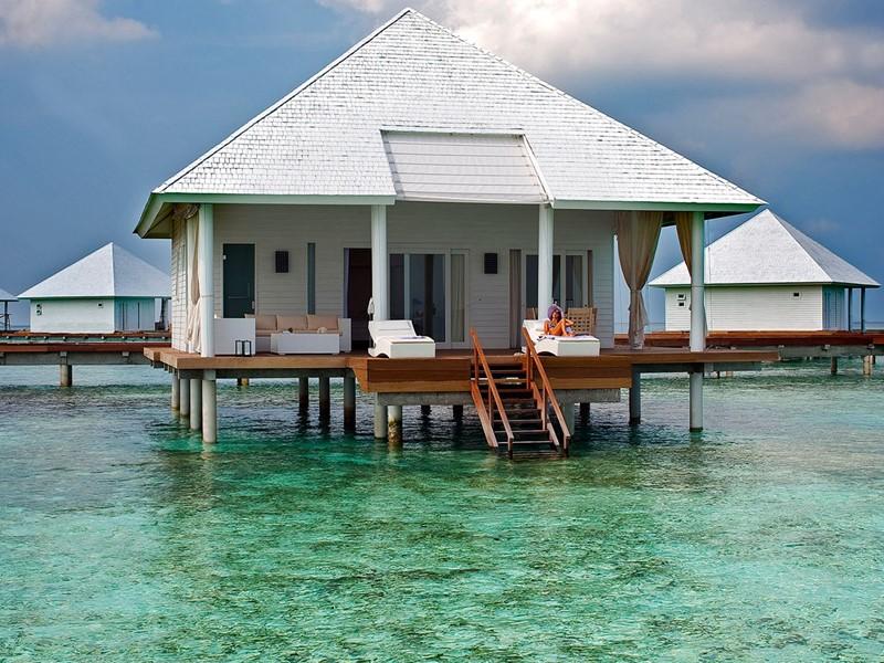 Vue d'une Water Villa