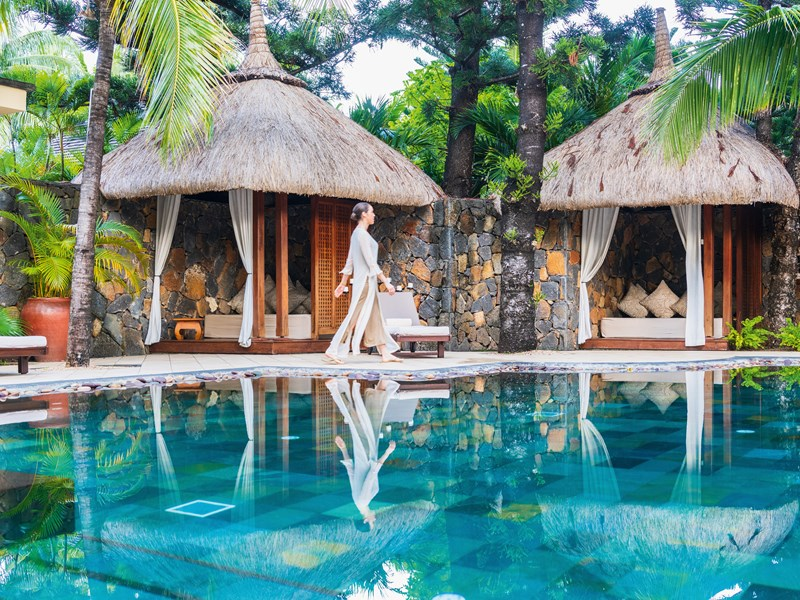 La belle piscine du spa