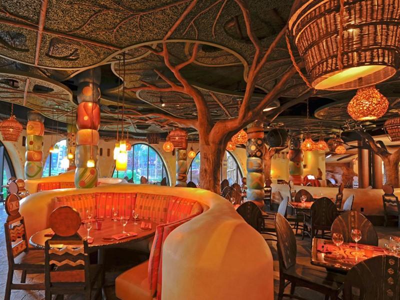Cuisine africaine au restaurant Sanaa du Disney's Animal Kingdom