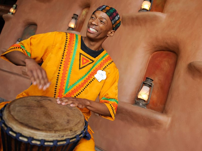 Ambiance africaine au Disney's Animal Kingdom Lodge