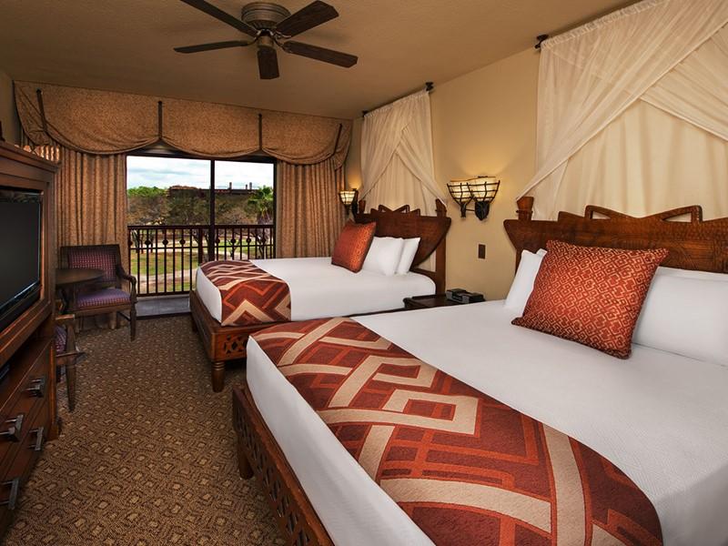 Standard View du Disney's Animal Kingdom Lodge
