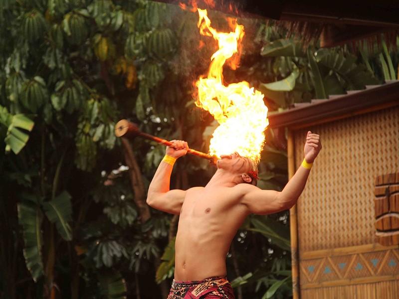 Ambiance exotique au Disney's Polynesian Village Resort