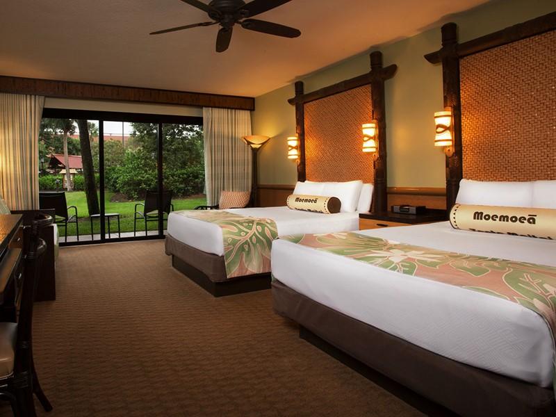 Standard View du Disney's Polynesian Village Resort