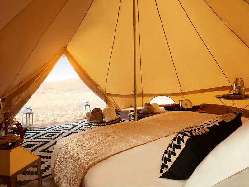 Une nuit inoubliable dans un campement luxueux