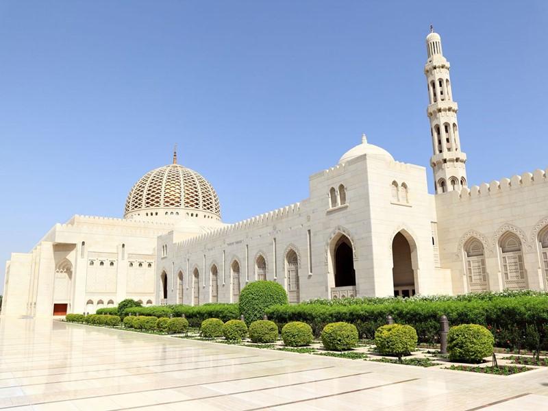 La somptueuse mosquée du sultan Qaboos