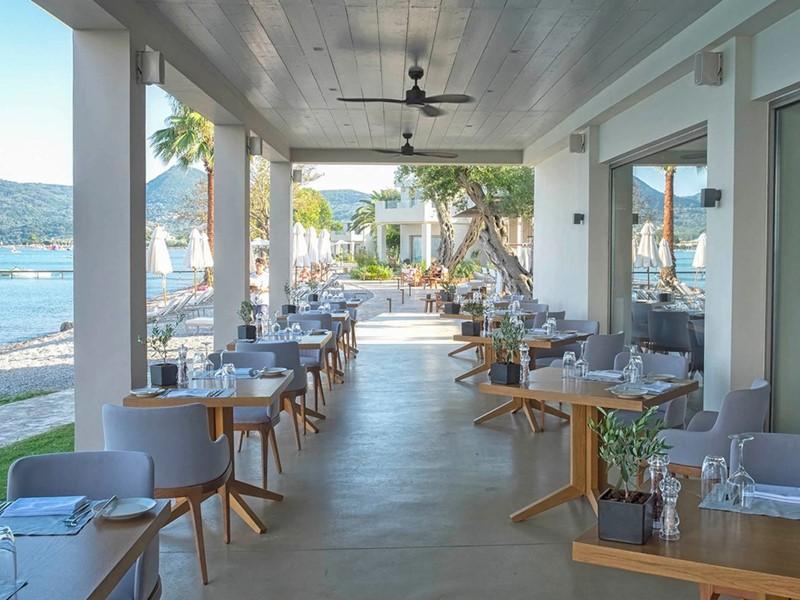 Le restaurant Makris de l'hôtel Domes Miramare