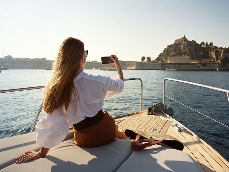 Profitez d'une balade en mer au Domes Miramare