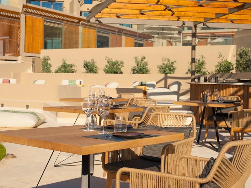 Restaurant Zeen du Domes Noruz à Chania en Crête