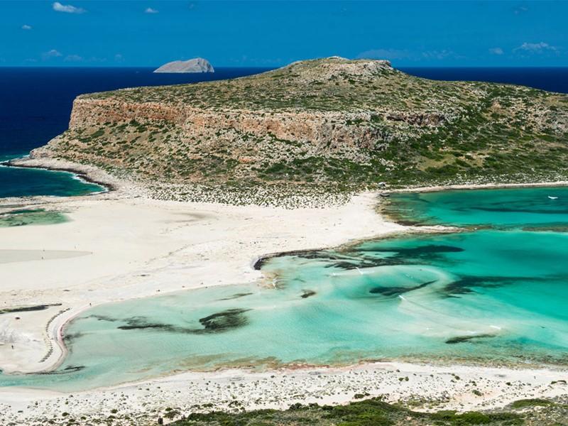 Découvrez la plage de Balos durant votre séjour au Domes Noruz en Crête