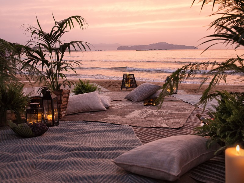 Admirez un magnifique couché de soleil