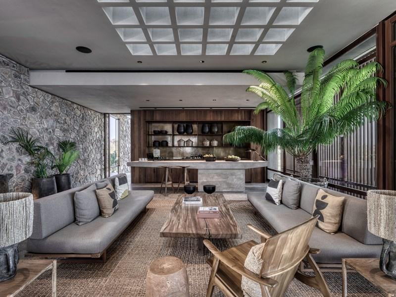 Le lobby du Domes Zeen Chania