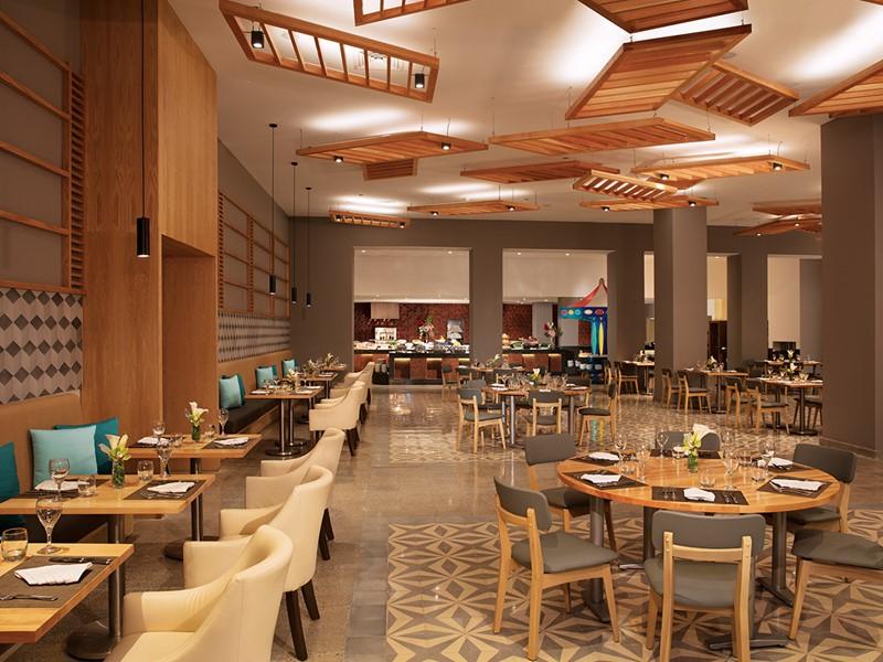 Le restaurant World Café du Dreams Playa Mujeres
