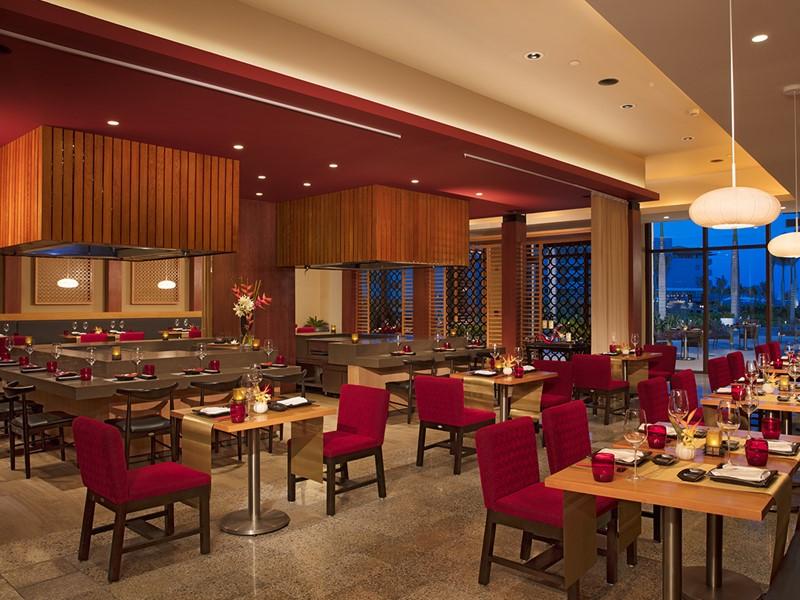 Spécialités japonaises au restaurant Fusion du Dreams Playa Mujeres