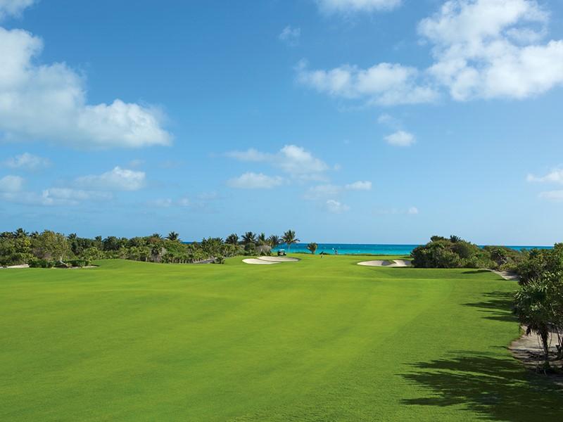 Le Dreams Playa Mujeres met à votre disposition un magnifique parcours de golf