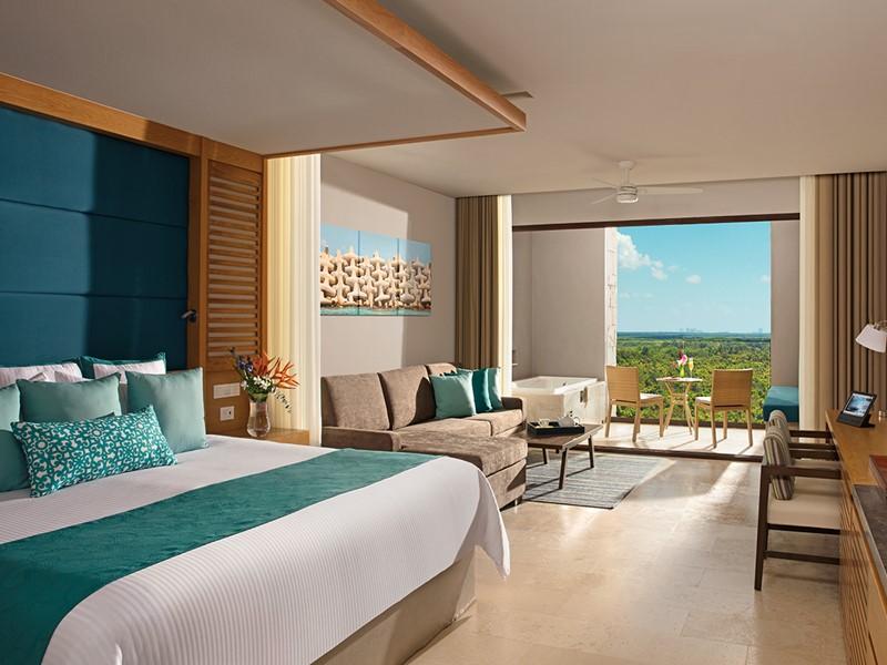 Junior Suite Garden View du Dreams Playa Mujeres
