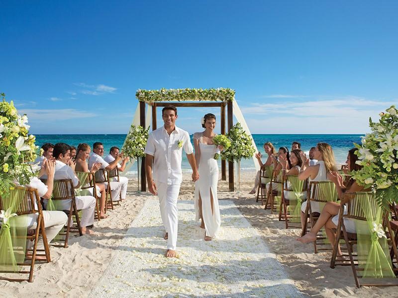 Mariage au Dreams Tulum situé au Mexique