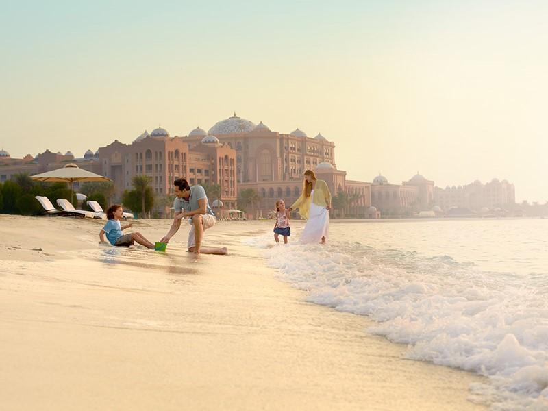 Abu Dhabi, une ville bordée de plages