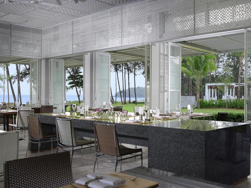 Restaurant Malati du Dusit Thani Krabi Beach Resort en Thailande