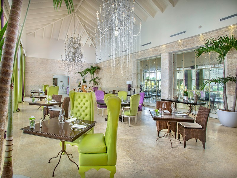 Le restaurant Mediterraneo de l'Eden Roc at Cap Cana