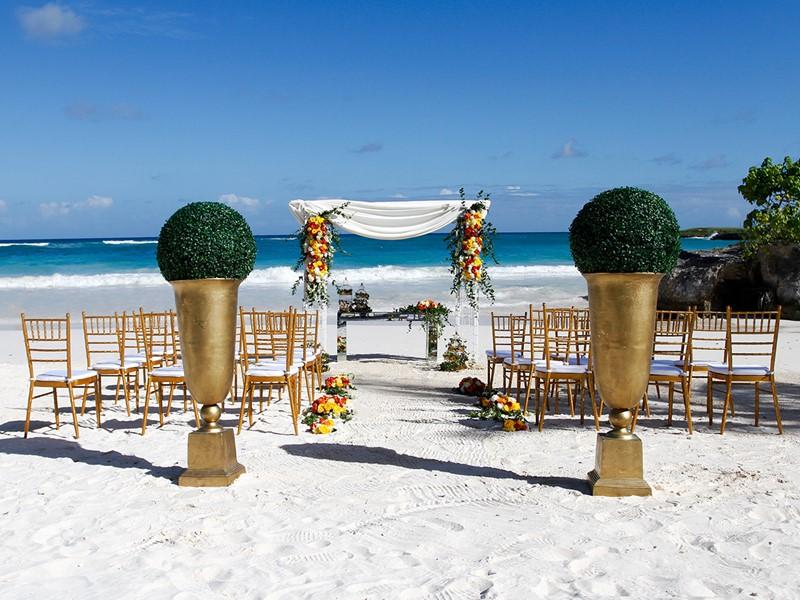 Mariage dans un cadre idyllique à l'hôtel Eden Roc