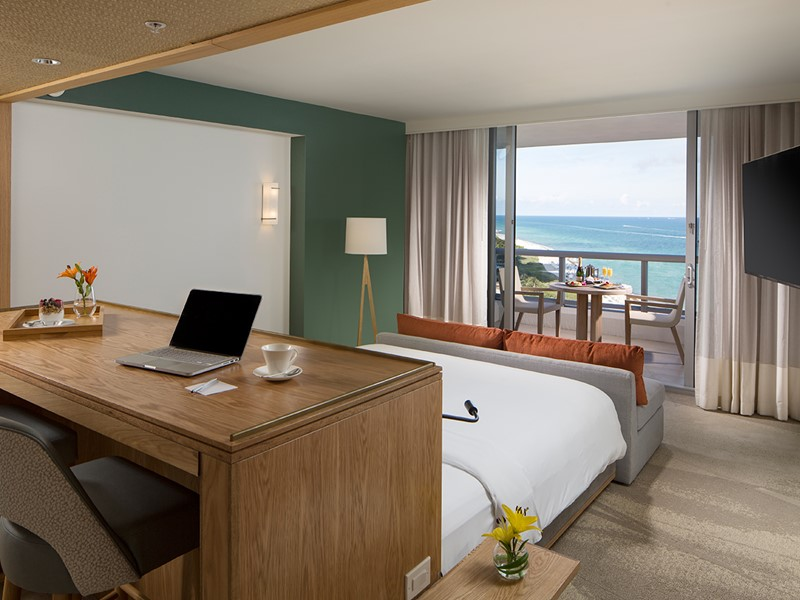 Junior Suite Ocean View de l'Eden Roc Miami Beach