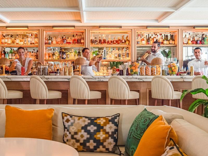 Des cocktails uniques, une ambiance chaleureuse...