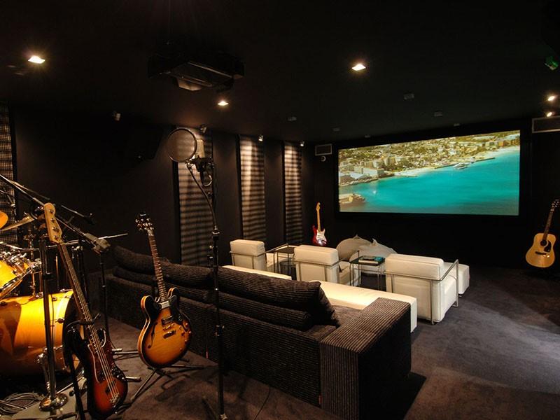 Cinéma de la Villa Rockstar de l'hôtel Eden Rock