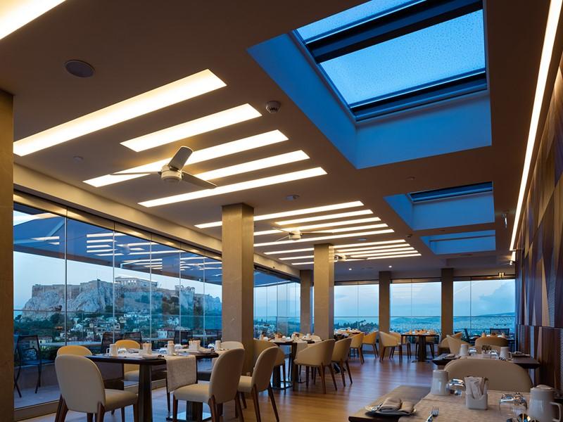 Le restaurant Metropolis Roof Garden