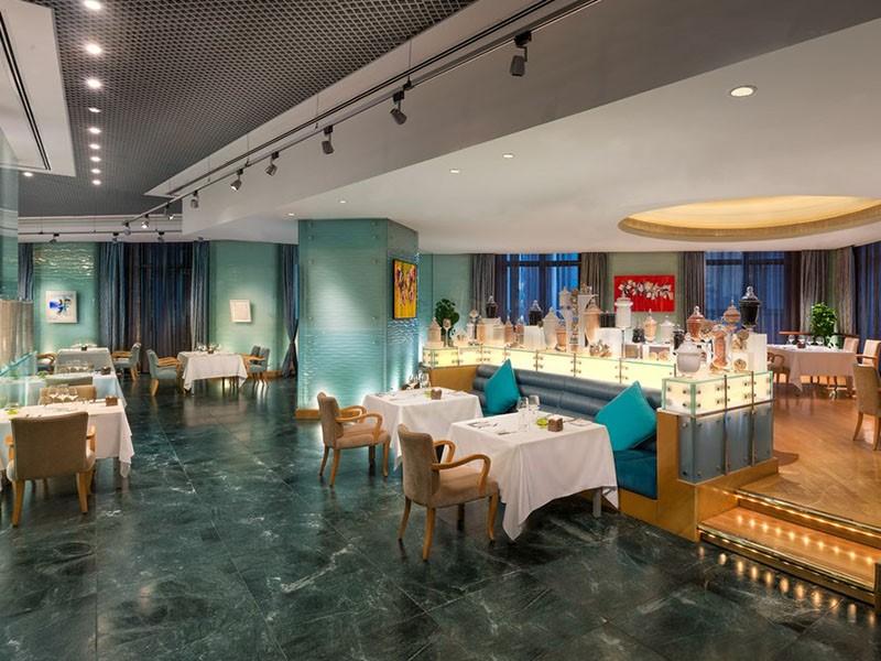 Sayad Seafood Restaurant de l'hôtel Emirates Palace