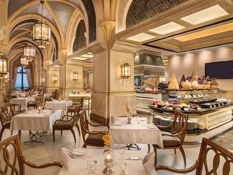 Restaurant Le Vendôme de l'hôtel Emirates Palace