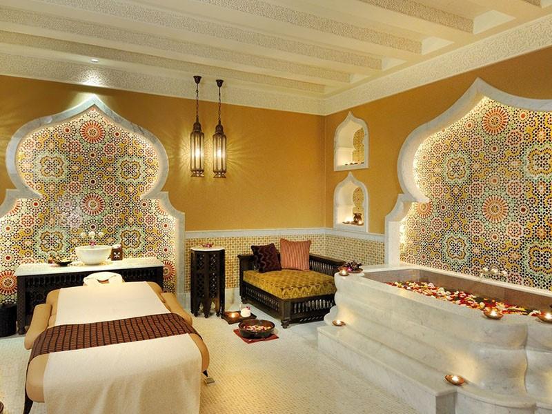 Le spa de l'hôtel 5 étoiles Emirates Palace